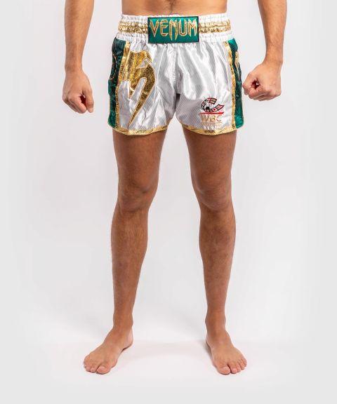 Short de boxe thaï Venum WBC Muay Thai  - Blanc/Vert