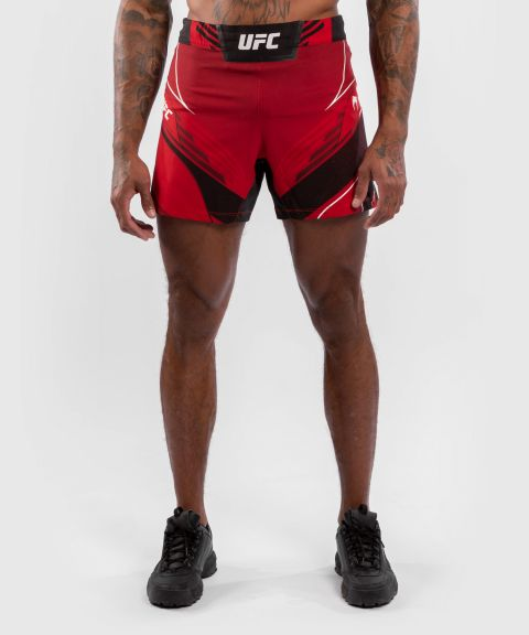 Fightshort Homme UFC Venum Authentic Fight Night - Coupe Courte - Rouge