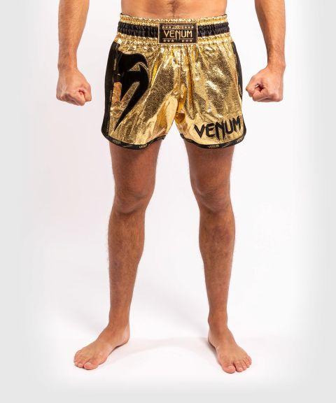 Short de Muay Thai Venum Giant Foil - Doré/Noir