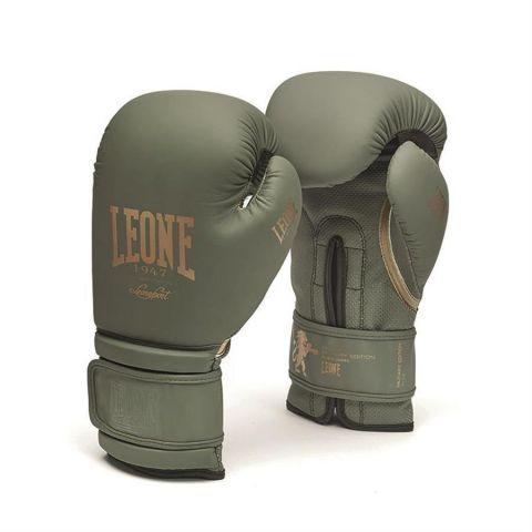 Gants de boxe Leone Military Edition - Vert