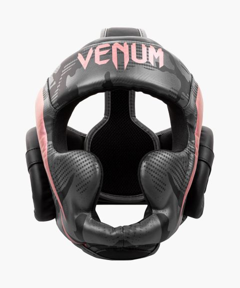 Casque de Boxe Venum Elite - Noir/Or rose