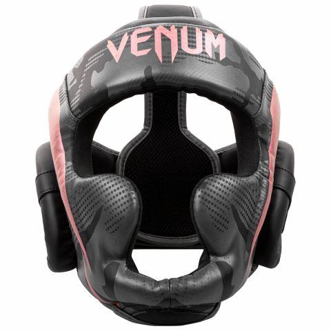 Casque de Boxe Venum Elite - Noir/Or rose