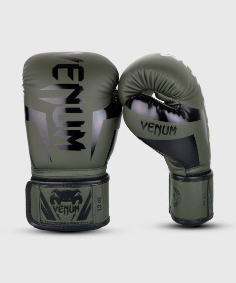 Gants de boxe Venum Elite - Kaki/Noir