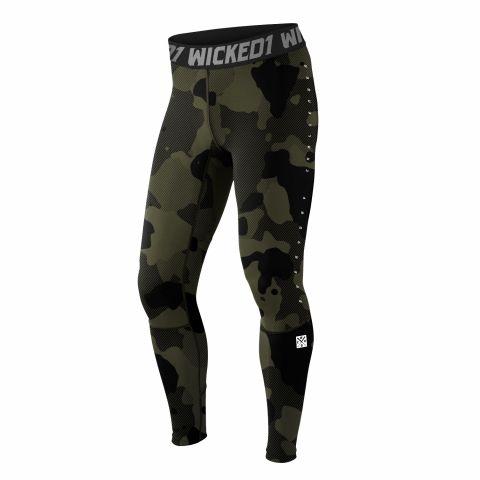 Pantalon de compression Wicked One Cloze - Kaki