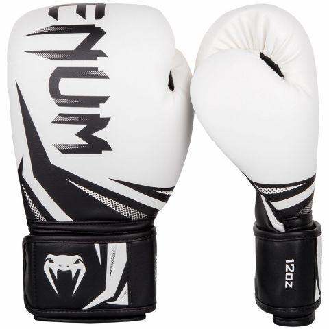 Gants de boxe Venum Challenger 3.0 - Blanc/Noir