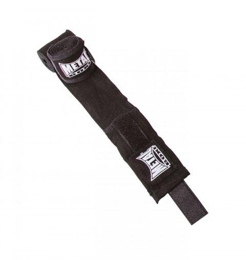 Bandages de boxe Metal Boxe 3.5 m - Noir