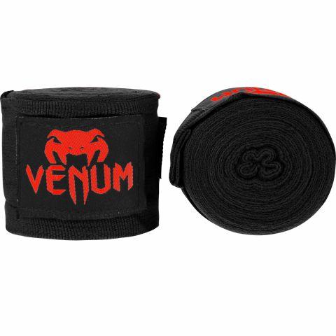 Bandages de boxe Venum Kontact - Noir/Rouge - 2,5 mètres