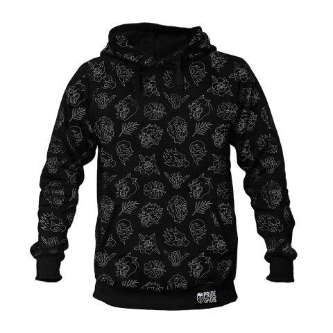 Sweatshirt à Capuche Pride Or Die Wild Side - Noir