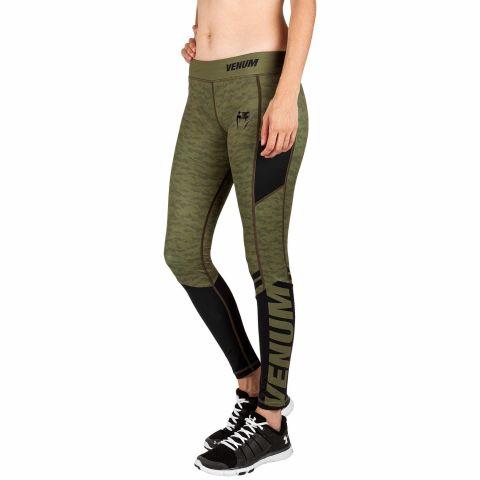 Legging Femme Venum Power 2.0 - Kaki/Noir