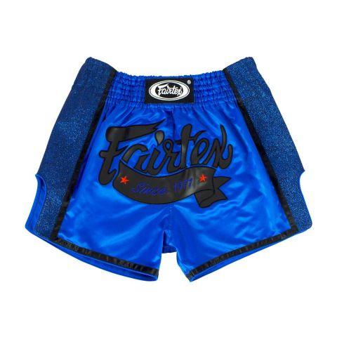 Short de boxe thaï Fairtex - Bleu