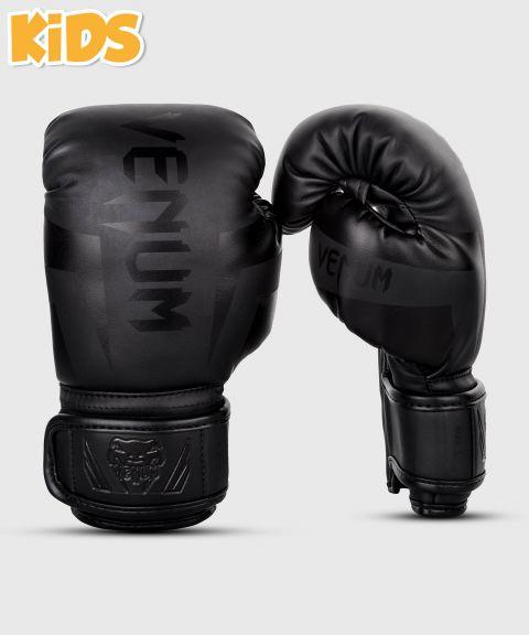 Gants de boxe enfant Venum Elite - Mat/Noir