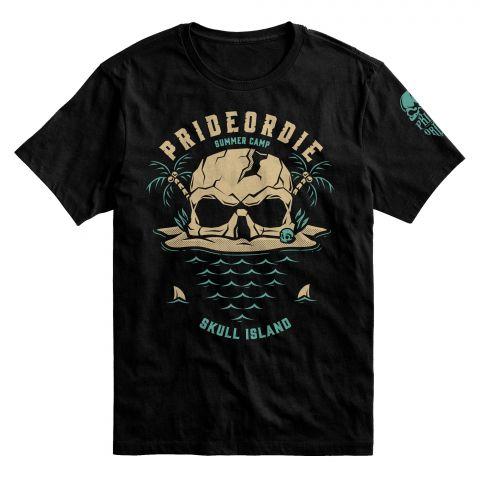 T-Shirt Pride or Die PoD Island - Noir