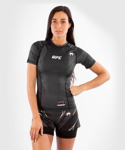 T-shirt de compression Femme UFC Venum Authentic Fight Night - Noir