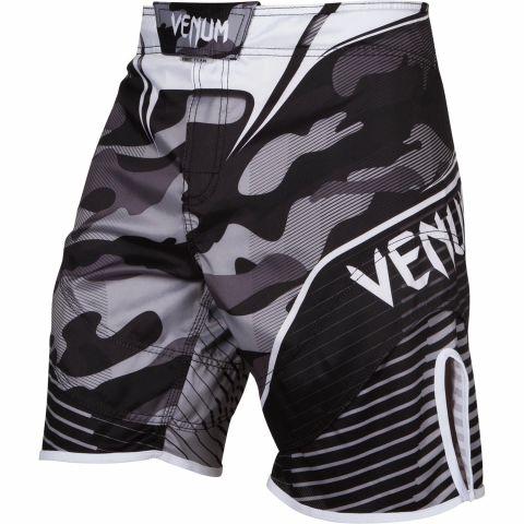 Fightshort Venum Camo Hero - Blanc/Noir