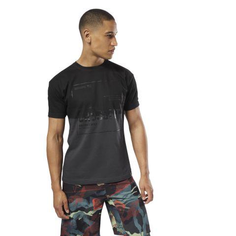 T-shirt Reebok - Coal