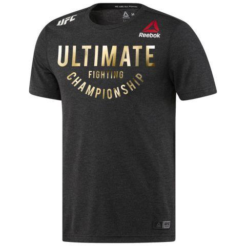T-shirt Reebok UFC Fight Night Walkout Jersey - Noir