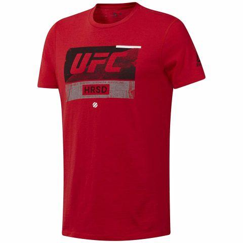 T-shirt Reebok UFC FG Fight Week - Rouge