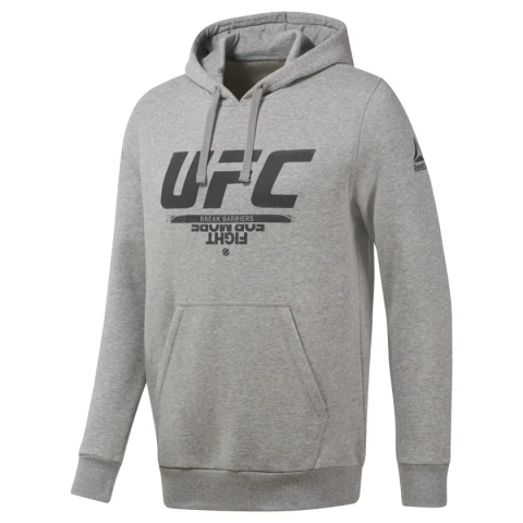 Sweat à capuche Reebok UFC Fan Gear - Gris