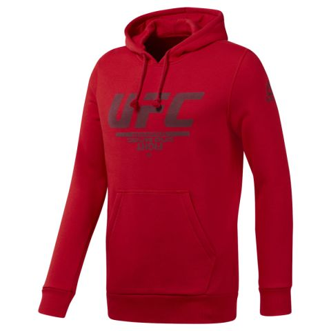 Sweat à capuche Reebok Fan Gear - Rouge
