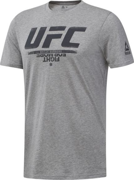 T-shirt Reebok avec logo UFC Fan Gear - Gris