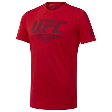 T-shirt Reebok avec logo UFC Fan Gear - Rouge