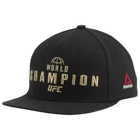 Casquette UFC Champ Reebok - Noir