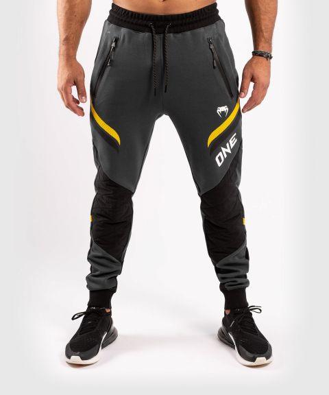 Pantalon de jogging Venum ONE FC Impact - Gris/Jaune