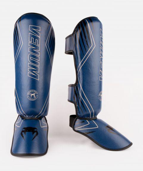 Protège-tibias Venum Contender 2.0 - Bleu Marine/Sable