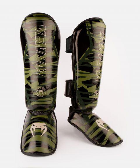 Protège-tibias Venum Contender 2.0 - Camouflage kaki