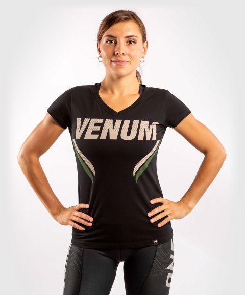 T-shirt Venum ONE FC Impact - pour femme - Noir/Kaki