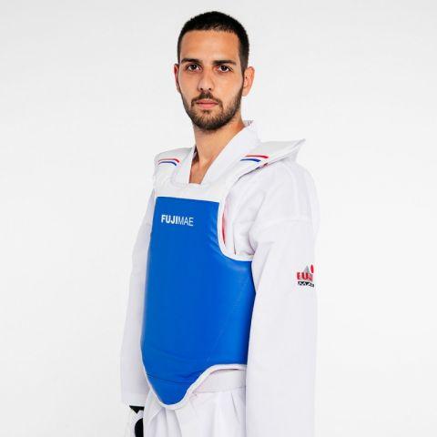 Plastron de Taekwondo réversible Fuji Mae - Compétition WTF