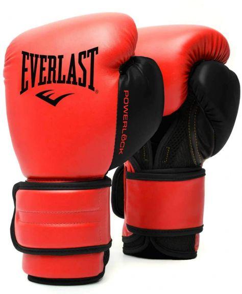 Gants de Boxe Everlast Powerlock - Rouge