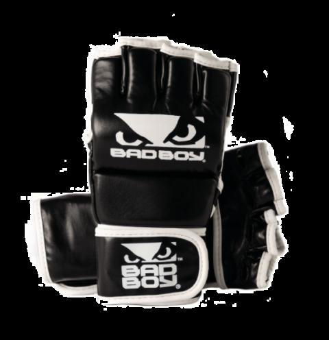 Gants de MMA Bad Boy  - Avec Pouces - Noir/Blanc