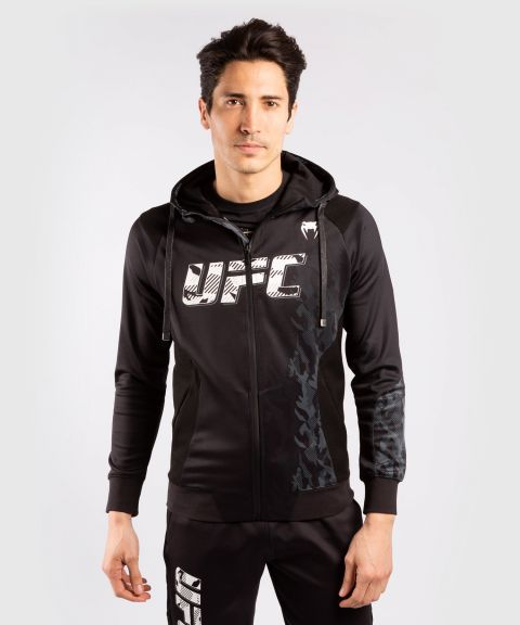 Sweatshirt Zippé Homme UFC Venum Authentic Fight Week - Noir
