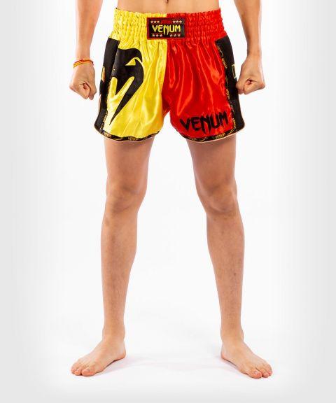 Short de Muay Thai Venum MT Flags - Belgique