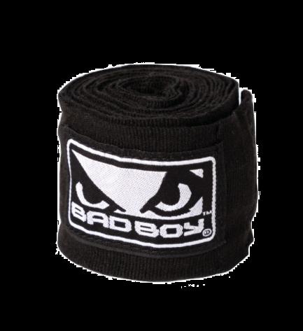 Bandages de Boxe Bad Boy - 3 Mètres - Noir/Blanc