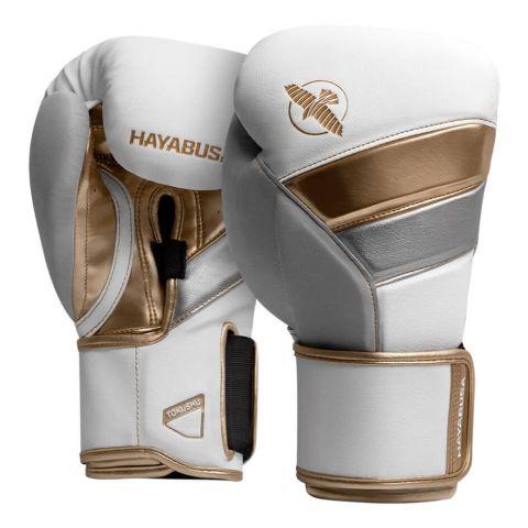 Gants de Boxe Hayabusa T3 - Blanc/Or