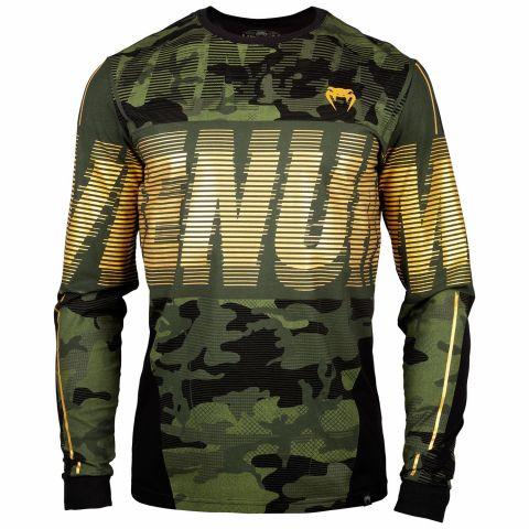 T-shirt Venum Tactical - Manches Longues - Forest Camo/Noir