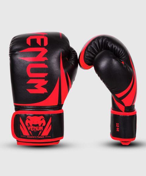 Gants de Boxe Venum Challenger 2.0 - Noir/Rouge - Exclusivité