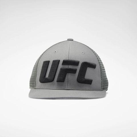 Casquette trucker Reebok logo UFC - Grise