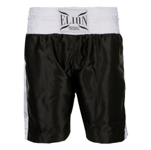 Short de boxe anglaise Elion - Noir/Blanc