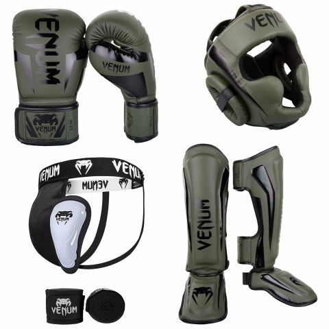 Pack Kick Boxing - Kaki/Noir 1