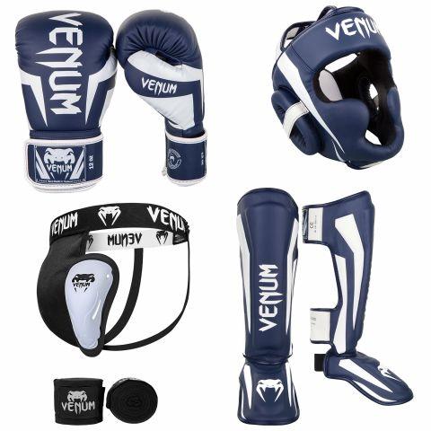 Pack Kick Boxing - Bleu Marine/Blanc 1