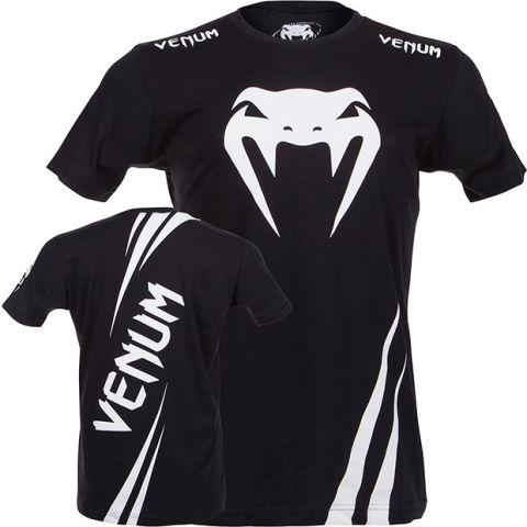 T-shirt Venum Challenger - Noir/Blanc
