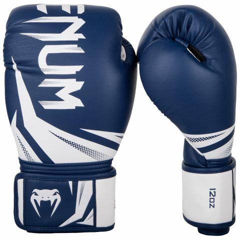 Gants de boxe Venum Challenger 3.0 - Bleu marine/Blanc