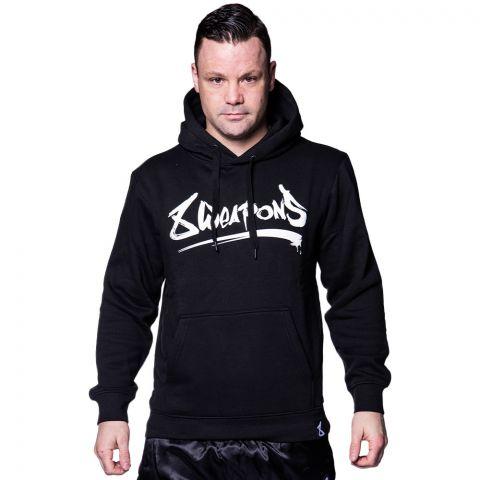 Sweatshirt à Capuche 8 Weapons Unlimited - Noir