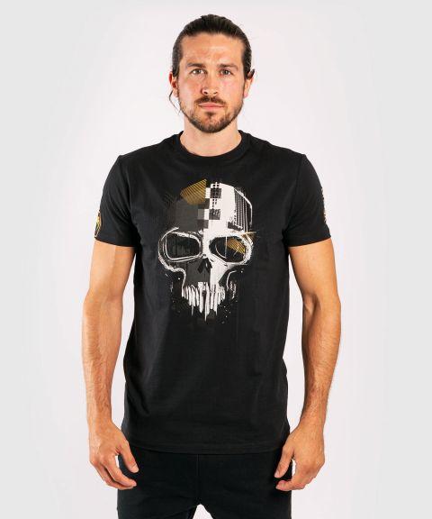 T-shirt en coton Venum Skull - Noir