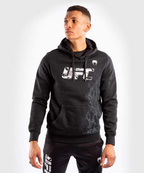 Sweatshirt à Capuche Homme UFC Venum Authentic Fight Week - Noir
