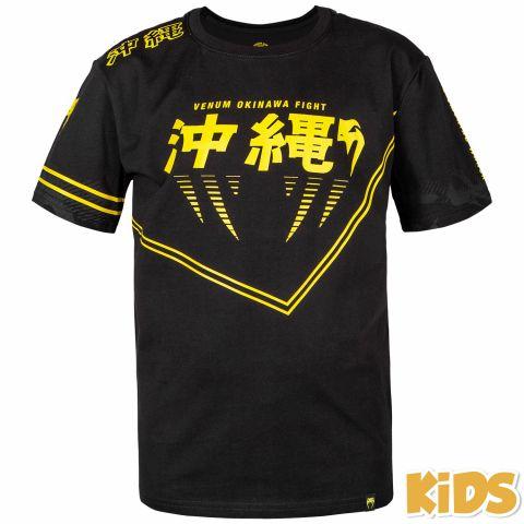 T-shirt Enfant Venum Okinawa 2.0 - Noir/Jaune - Exclusivité