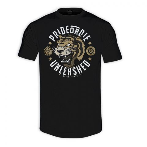 T-Shirt Pride or Die Unleashed Noir